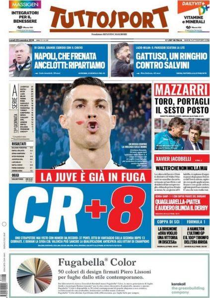 صحيفة توتو سبورت الإيطالية