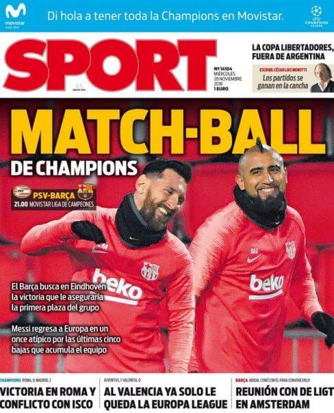 صحيفة سبورت الإسبانية