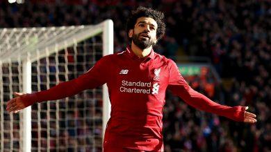 صورة صلاح يحصد جائزة لاعب الشهر في ليفربول