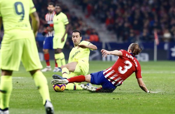 برشلونة وأتليتكو مدريد