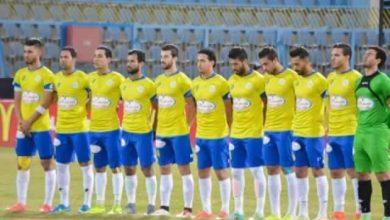 صورة قائمة الإسماعيلي ضد مصر المقاصة في الدوري