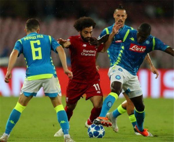موعد مباراة ليفربول ونابولي والقنوات الناقلة