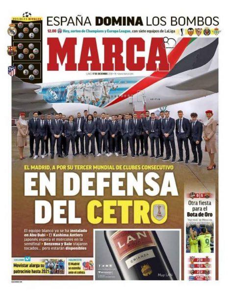 صحيفة ماركا الإسبانية