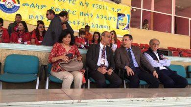Photo of سفير مصر بإثيوبيا يؤازر الأهلي أمام جيفار