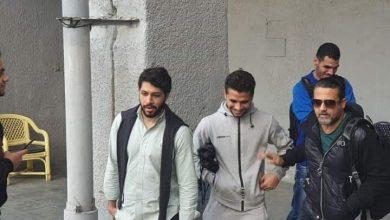 صورة محمد محمود يصل الجزيرة لخوض أول مران له مع الفريق