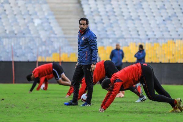 الأهلي يتدرب على ركلات الترجيح قبل مباراة جيما الأثيوبي