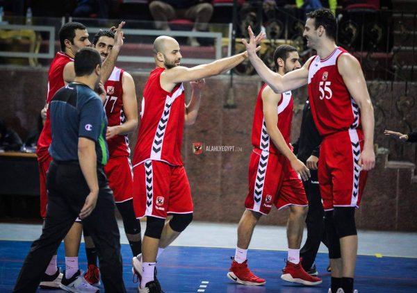 الأهلي يصعد لربع نهائي كأس مصر لرجال السلة