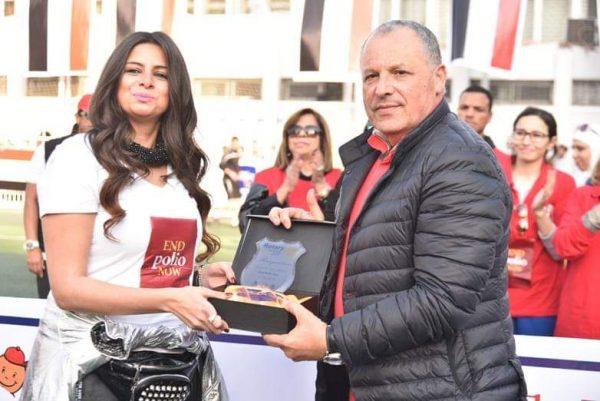 هاني أبو ريدة و إيمان هاني