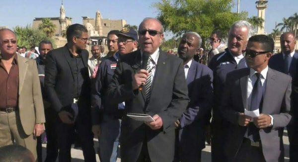 رئيس الاتحاد المصرى يشيد بجهود محافظ الأقصر
