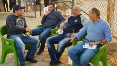 Photo of يوسف يتابع مباراة أهلي ٢٠٠٠ أمام النصر