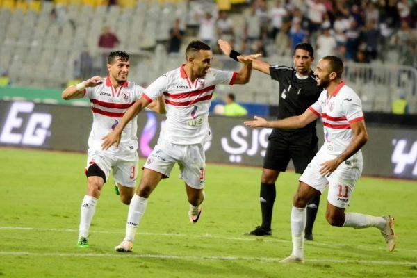 موعد مباراة الزمالك ومصر المقاصة والقنوات الناقلة