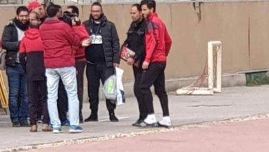 Photo of حمدى فتحي يظهر في مران الأهلي لأول مرة