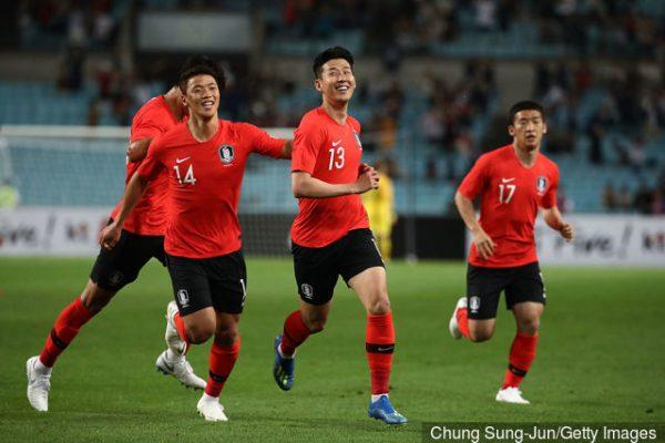 مشاهدة مباراة كوريا الجنوبية وقطر بث مباشر
