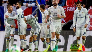 صورة ريال مدريد وإشبيلية .. التعادل يخيم علي أحداث الشوط الأول