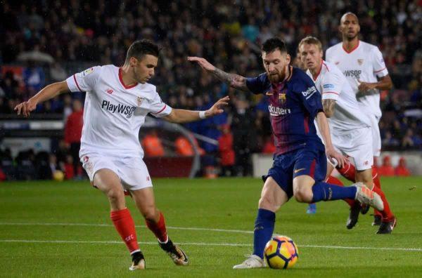 مشاهدة مباراة برشلونة وإشبيلية بث مباشر 23-1-2019 كأس ملك إسبانيا