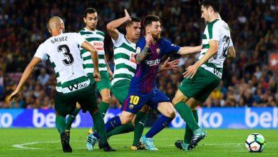 مشاهدة مباراة برشلونة وإيبار بث مباشر