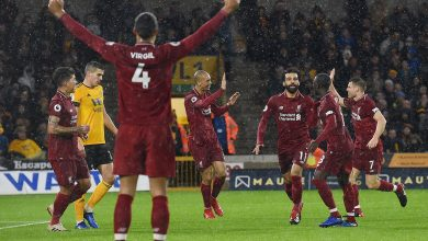 ليفربول ضد وولفرهامبتون محمد صلاح