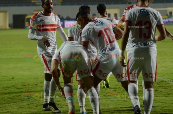 الزمالك ضد مصر المقاصة
