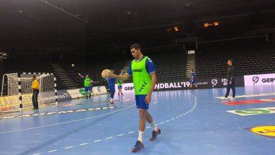 Photo of منتخب مصر لكرة اليد يتدرب على صالة رويال ارينا استعدادا لمواجهة السويد