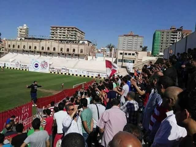 جماهير بلدية المحلة
