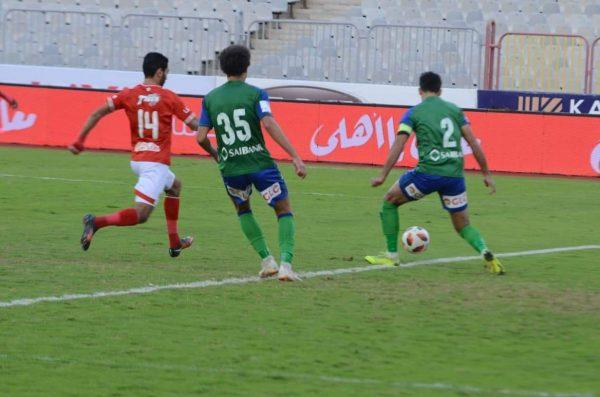 مباراة الأهلي ومصر المقاصة