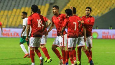 التشكيل المتوقع للأهلي ضد مصر المقاصة