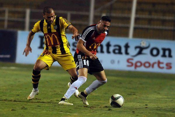 ملخص وأهداف مباراة المقاولون العرب وطلائع الجيش في الدوري