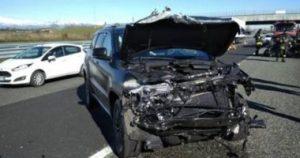 كوستا يتعرض لحادث سير