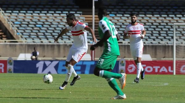 ملخص وأهداف مباراة الزمالك وجورماهيا الكيني