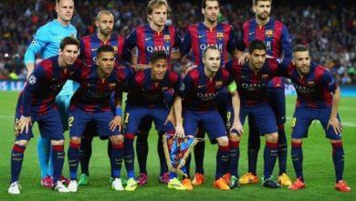 قائمة برشلونة للكلاسيكو