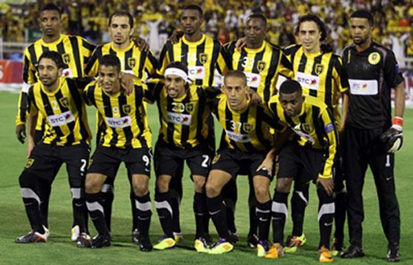 ملخص ونتيجة مباراة الإتحاد السعودي ضد الوصل في كأس محمد السادس