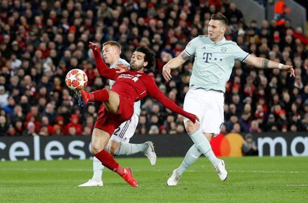 التعادل السلبي يحسم قمة ليفربول ضد بايرن ميونيخ