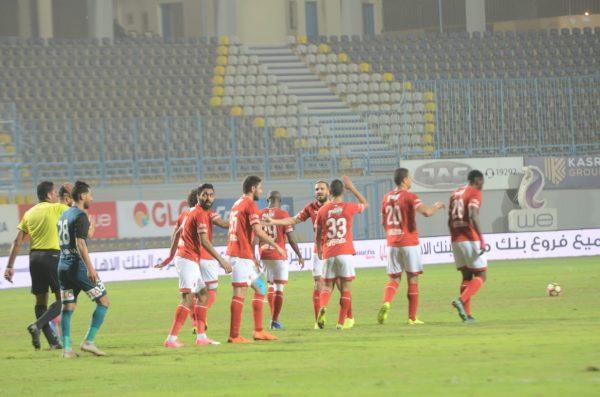 ملخص وأهداف مباراة الأهلي ضد الداخلية بالدوري المصري