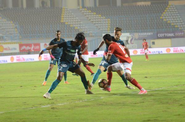 أهداف مباراة الأهلي ضد إنبي