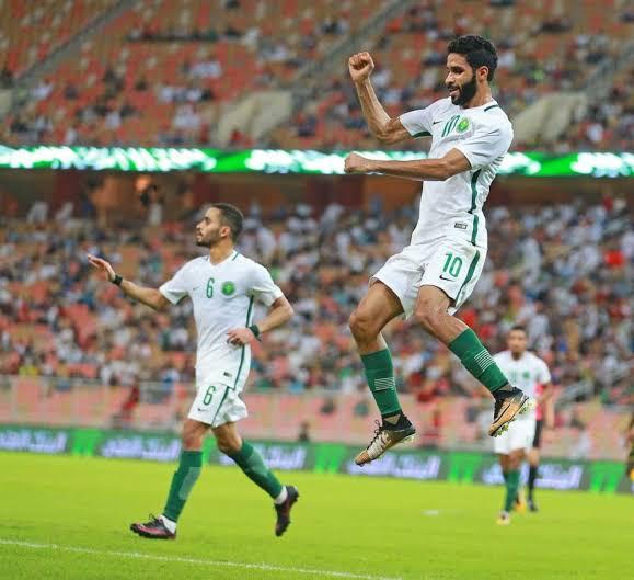 ترتيب المنتخب السعودي في الفيفا