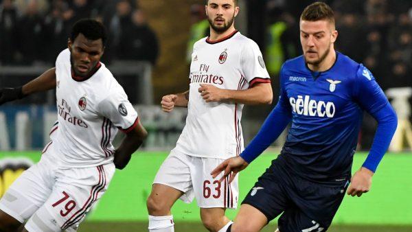 ميلان ضد لاتسيو| التعادل السلبي ينهي مباراة الذهاب بكأس ايطاليا