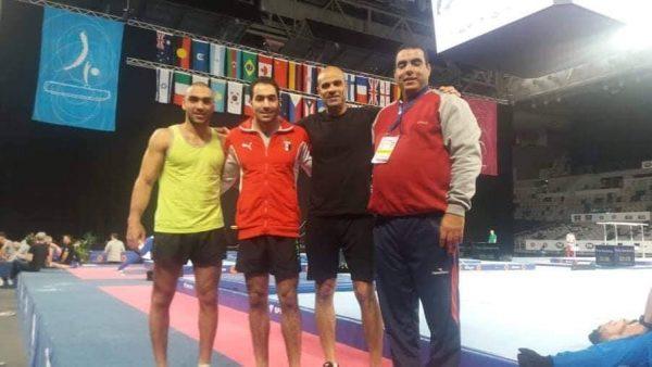 تأهل علي أبو القاسم إلى نهائيات كأس العالم الجمباز الفني