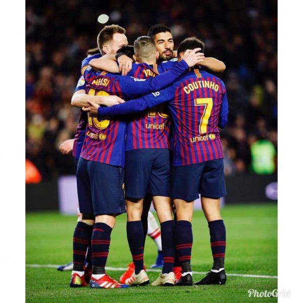 ملخص وأهداف مباراة برشلونة ضد إشبيلية