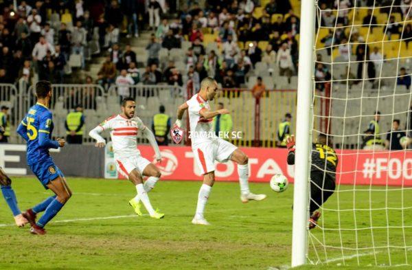 شاهد أهداف مباراة الزمالك وبترو أتلتيكو
