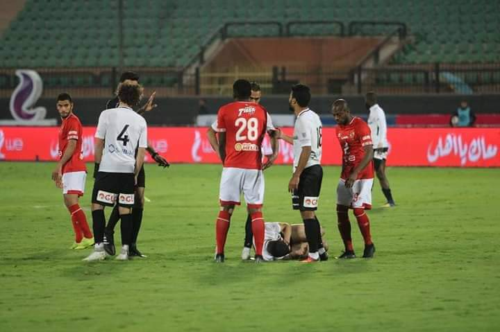 ملخص وأهداف مباراة الأهلي ضد حرس الحدود
