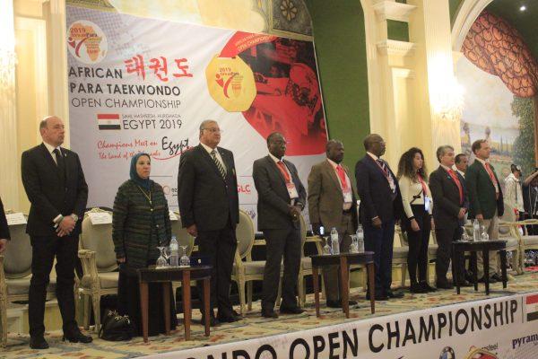 أفتتاح البطولة الأفريقية للباراتايكوندو