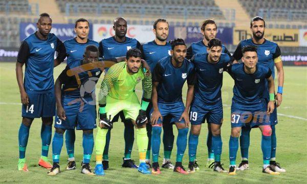 ملخص ونتيجة مباراة مصر المقاصة ضد إنبى بالدورى