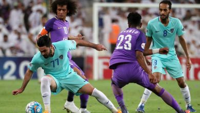صورة ملخص ونتيجة مباراة العين ضد الجزيرة في الدوري الإماراتي
