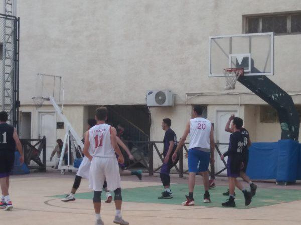 مباراة الزمالك و مدينة نصر في بطولة الجمهورية تحت ١٨ عام لكرة السلة