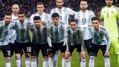أهداف مباراة الأرجنتين وفنزويلا وديا