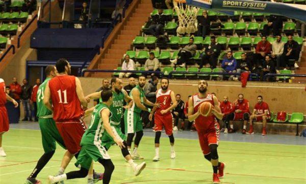 مباراة الاتحاد السكندري و الاهلي في دوري السوبر لكرة السلة