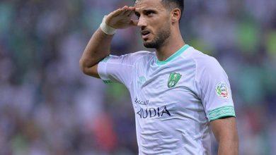 صورة عمر السومة يصل لمئة هدف بعد الفوز على القادسية