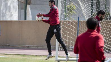 Photo of محمد الشناوي يشارك في تدريبات الأهلي اليوم