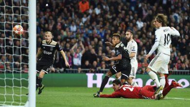 ريال مدريد ضد أياكس.. الملكي يودع دوري أبطال أوروبا برباعية