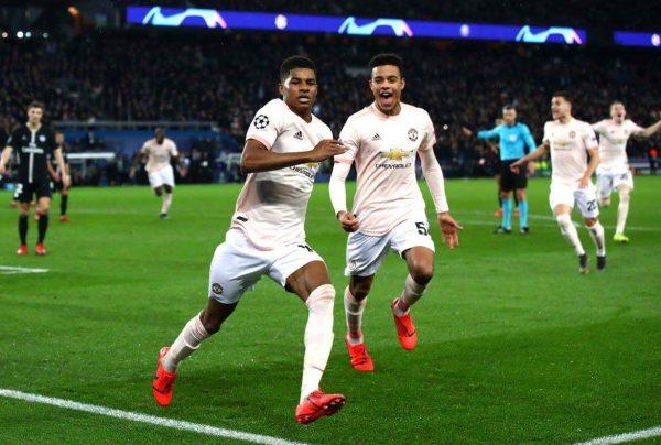 ملخص وأهداف مباراة مانشستر يونايتد ضد باريس سان جيرمان بدوري الأبطال